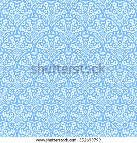 Vintage vector pattern. Geometric pattern design for background or wallpaper. - stock vector
