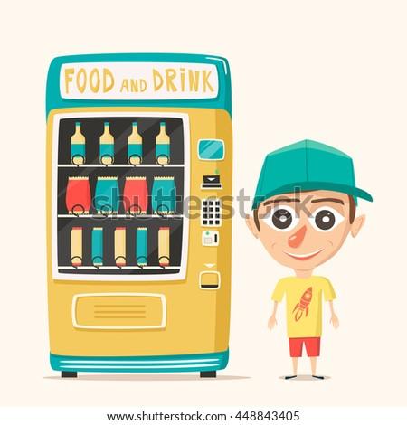 vending machine illustration