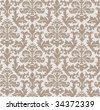 vintage wallpaper - stock vector