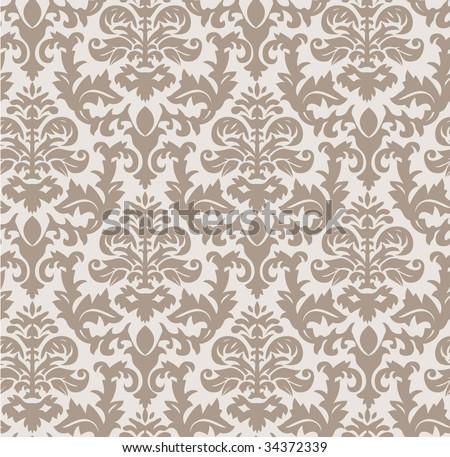 vintage wallpaper - stock vector