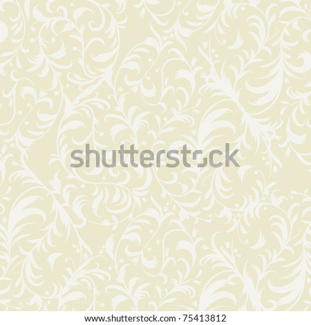 Vintage wallpaper with place for your text - stock vector