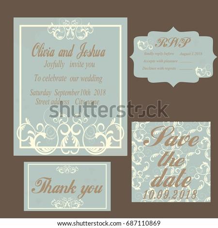 Illustrator Wedding Invitation Template – diabetesmang.info