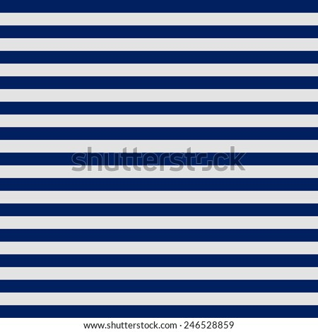 Vintage white and navy blue stripes pattern  - stock vector