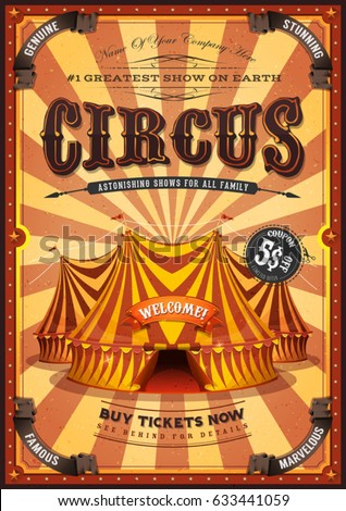 Circus stock images royalty free images vectors for Circus posters free