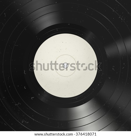Vinyl record background. Vinyl with dust on the surface.