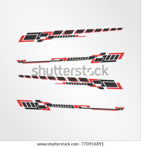 Decal Stock Images RoyaltyFree Images Vectors Shutterstock - Car sticker decal for girlsgirl motorcycle promotionshop for promotional girl motorcycle on