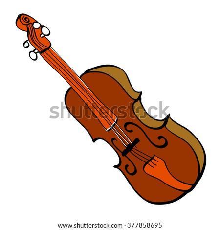 Violin Vector  EPS10 - stock vector
