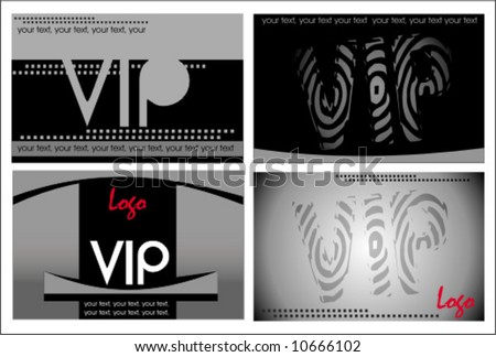 VIP cards.  To see similar, please VISIT MY GALLERY.