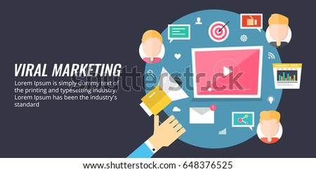 effects of internet viral marketing on Originally, viral marketing referred to word of mouth advertising in theory, one person tells all their friends, who in turn tell all their friends, and so.