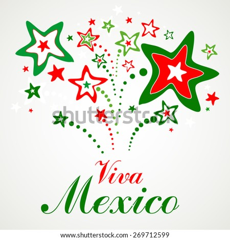 Viva Mexico. Vector Illustration - stock vector