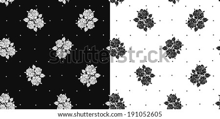 vivid seamless pattern with roses pictures