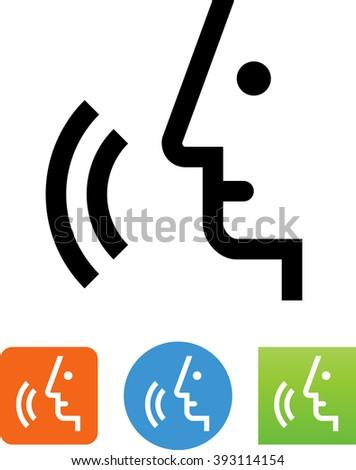 Voice command icon stock vector 393114154 shutterstock for Voice assistant italiano