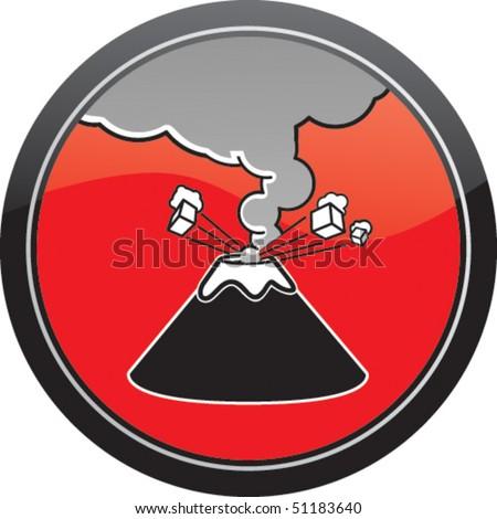 Volcan / Volcano - stock vector