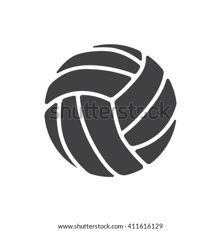Volleyball Icon, Volleyball Icon Eps10, Volleyball Icon Vector, Volleyball Icon Eps, Volleyball Icon Jpg, Volleyball Icon Picture, Volleyball Icon Flat, Volleyball Icon App - stock vector