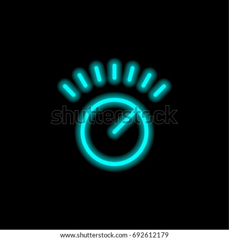 Rss Blue Glowing Neon Ui Ux Stock Vector #1: stock vector volume control blue glowing neon ui ux icon glowing sign logo vector