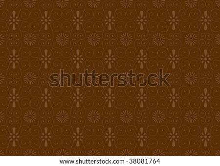 VON Chocolate - stock vector