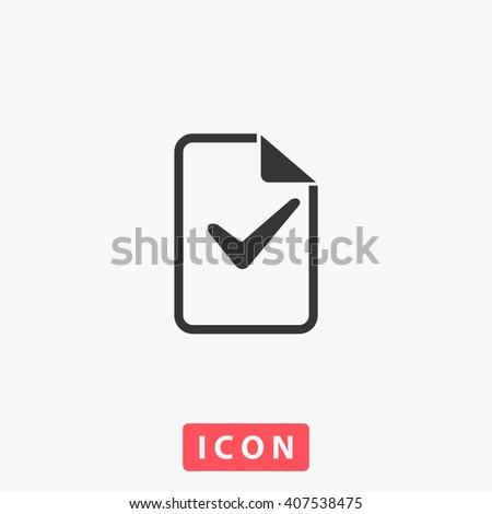 vote Icon.  - stock vector