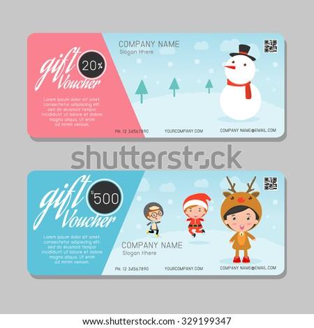 Voucher gift certificategift voucher template cute stock vector voucher gift certificategift voucher template cute gift voucher certificate coupon design template yelopaper Choice Image