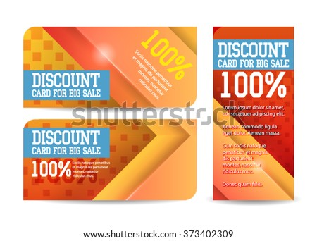 Gift Voucher Template Colorful Patterncute Gift Vector – Present Voucher Template