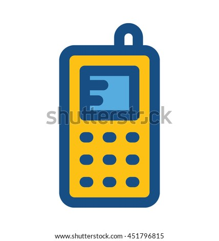 Walkie Talkie Vector Icon