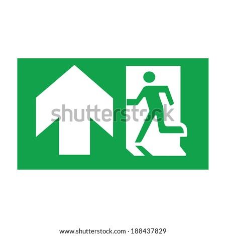walking way vector signs - stock vector