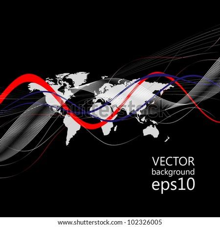 wallpaper - stock vector