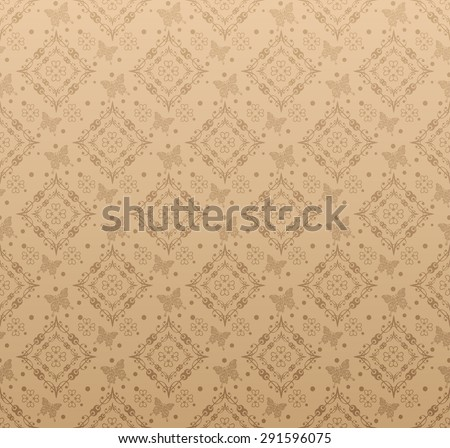 Wallpaper background for Your design. Template for decorating books, postcards, wallpaper, wall, web design. Background in style vintage. Vector background