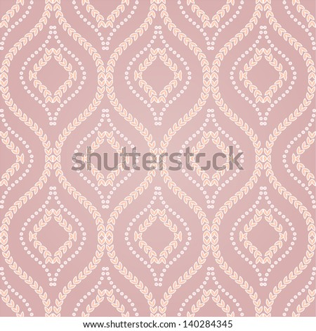 Wallpaper pattern,floral. Vector background.Seamless. - stock vector