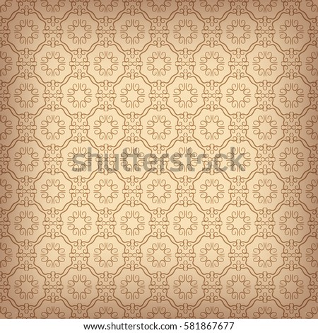 Wallpaper Pattern Old Paper Texture Background Stock Vector ...