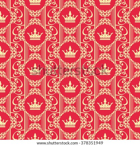 Wallpaper,wallpaper design,vintage wallpaper,damask wallpaper,textured wallpaper,background wallpaper,computer wallpaper,retro wallpaper,modern wallpaper,art wallpaper,red wallpaper - stock vector