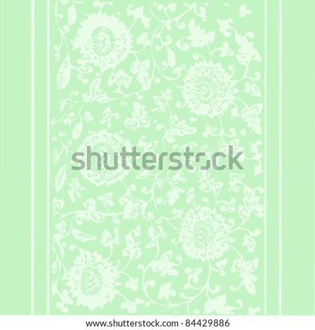 wallpapers, vector elegant and romantic vintage card design, illustration background with flowers ( Invitation frame, card) - stock vector