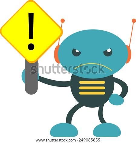 WARNING!!! - stock vector