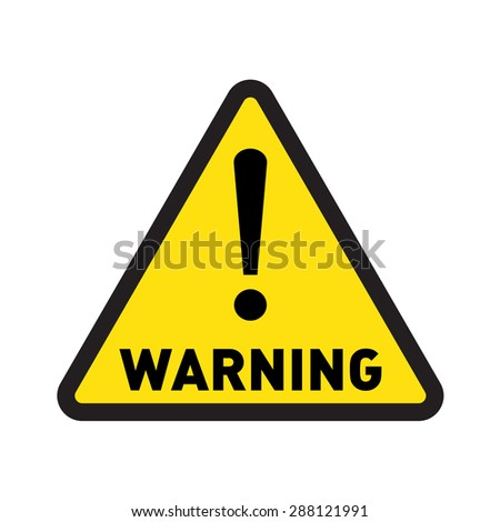 warning vector sign