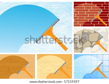 Washing, vector illustration - stock vector