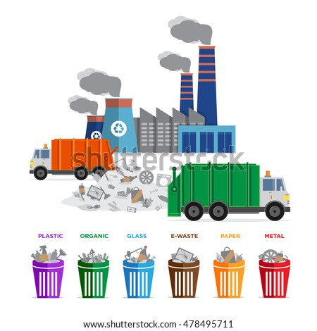 Recycling Plant Stock Images, Royalty-Free Images & Vectors ...