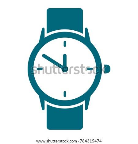 watch icon wristwatch icon flat design stock vector 784315474 rh shutterstock com vector watch price vector watch update