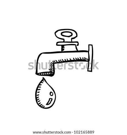 water - stock vector