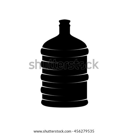 water bottles - stock vector