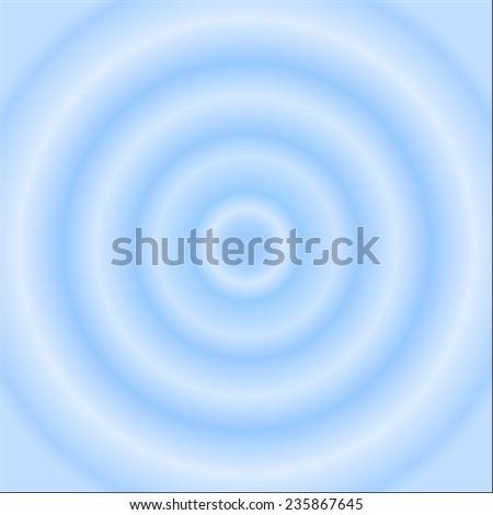 Water circle - stock vector