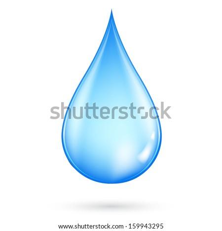 Water drop. - stock vector