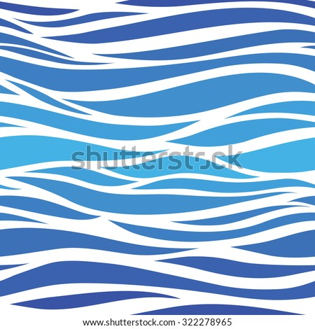 Water pattern - stock vector