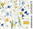 watercolor  dandelion ...