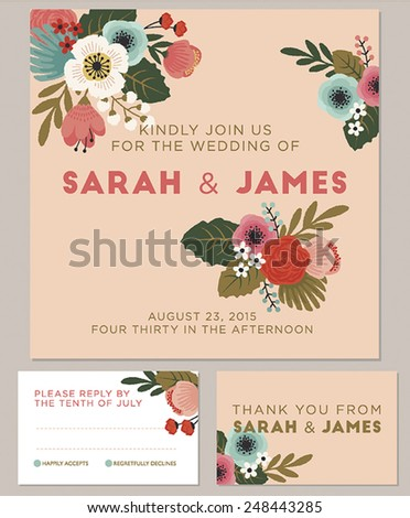 watercolors invitation