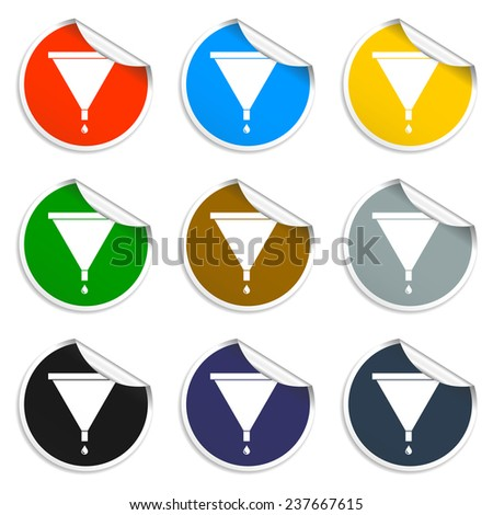 watewatering can vector icon. Flat vector illustrator  - stock vector