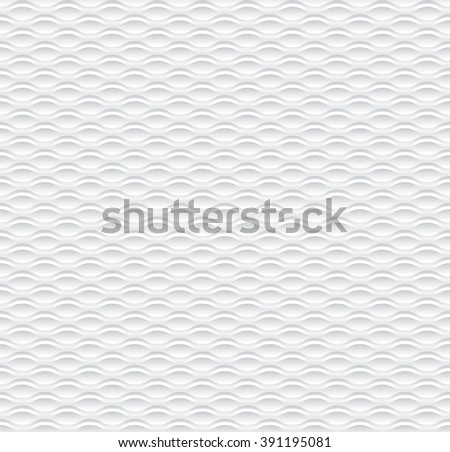 wave 3d geometric pattern  - stock vector
