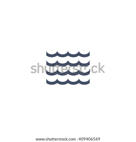 Wave Icon, Wave Icon Eps10, Wave Icon Vector, Wave Icon Eps, Wave Icon Jpg, Wave Icon Picture, Wave Icon Flat, Wave Icon App, Wave Icon Web, Wave Icon Art, Wave Icon, Wave Icon Object - stock vector