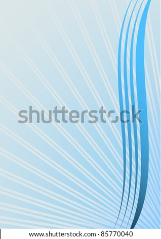 Wave innovation - stock vector