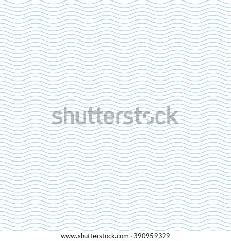 Wave Seamless Pattern. - stock vector