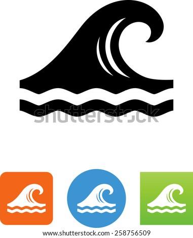 Tsunami Wave Stock Vectors Vector Clip Art Shutterstock