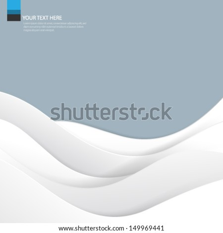 Waves Concept Background - stock vector